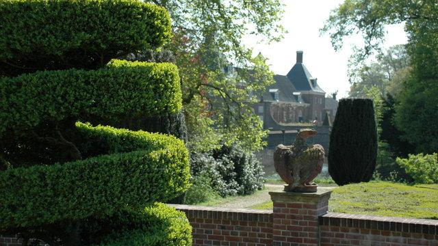 De tuin van Kasteel Amerongen
