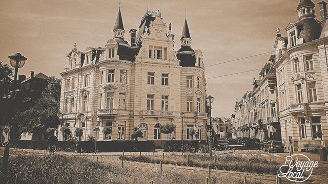 Historische gebouwen in Antwerpen met Voyage Local