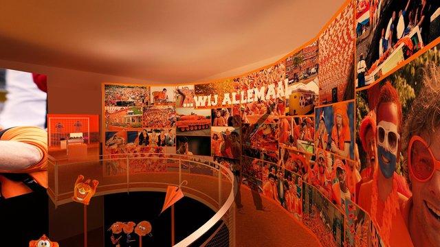 Helden aan de Bal. Foto: Nederlands Openluchtmuseum