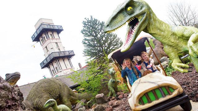 Dinotoer bij Julianatoren in Apeldoorn