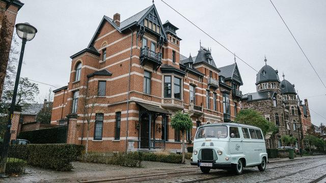 Bus voor groot huis Antwerpen
