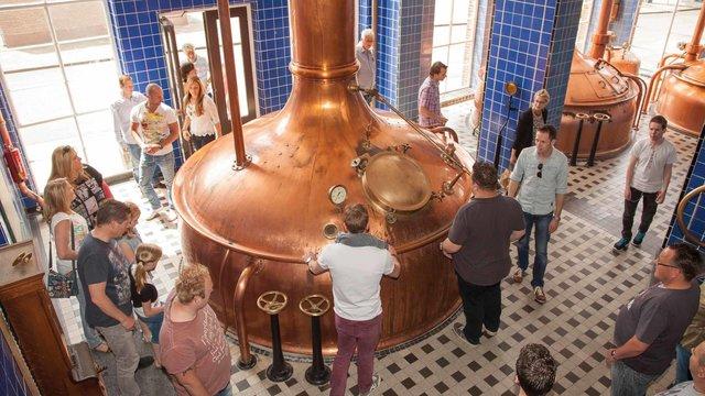 Bavaria Brouwerijtour - ketel in de brouwerij