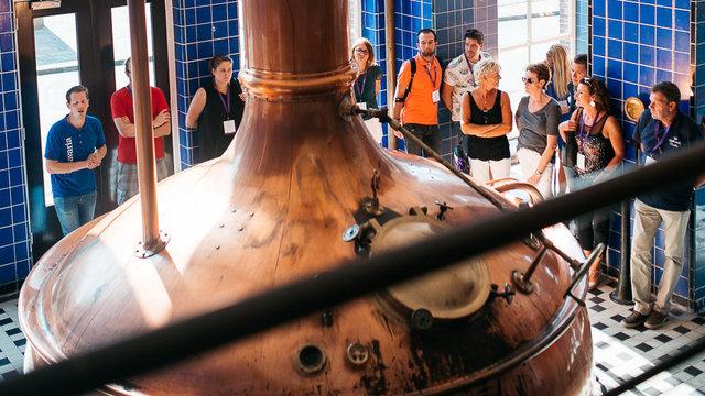 Rondleiding door de bierbrouwerij