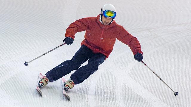 Skiën in een indoor skihal - Skidôme Rucphen