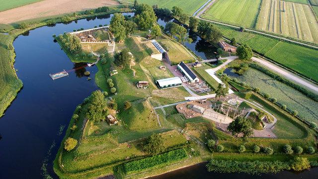 Luchtfoto Geofort Herwijnen