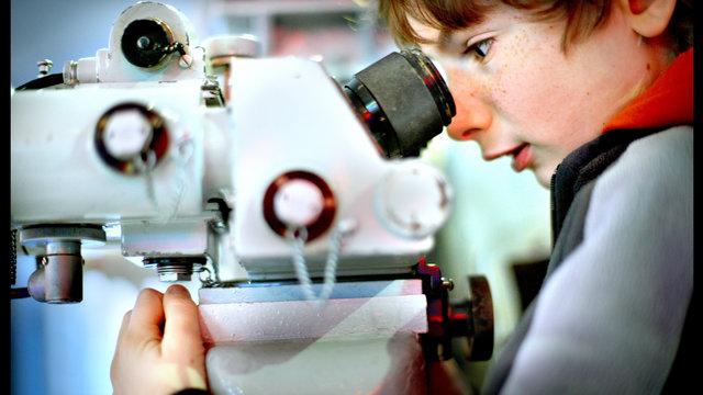 Ga op onderzoek uit met een microscoop!