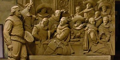 Zandsculpturen Garderen - beroemde kunstwerken.