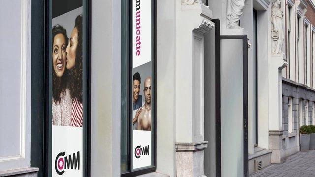 Voorgevel gebouw COMM - Museum voor Communicatie