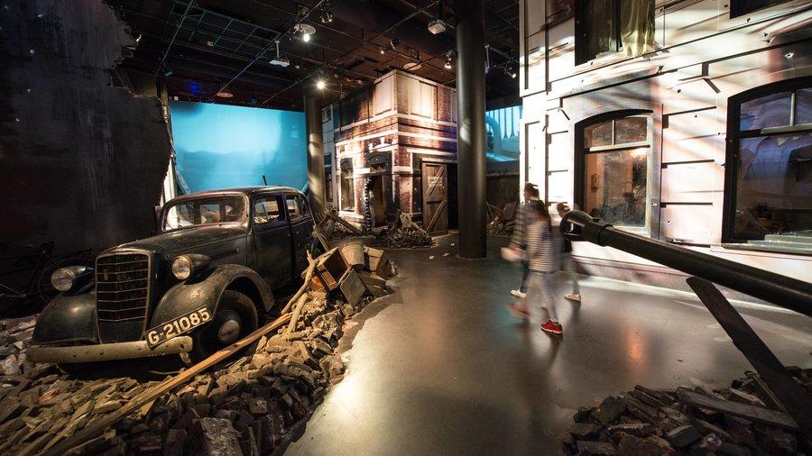 Airborne museum ondergrondse experience