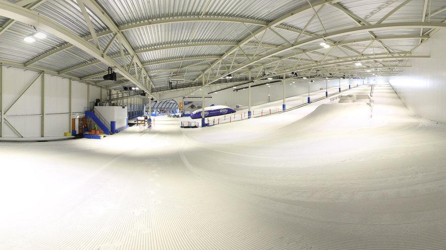 Mooie skibaan om te oefenen - Skidôme Rucphen