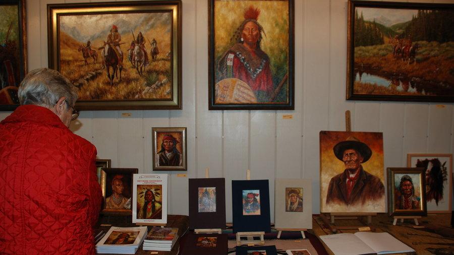 Indian Art Gallery bij CactusOase