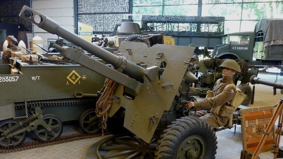 Bekijk de verschillende wapens die gebruikt werden tijdens de oorlog