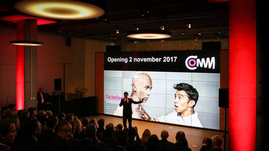 Presentatie in COMM - Museum voor Communicatie