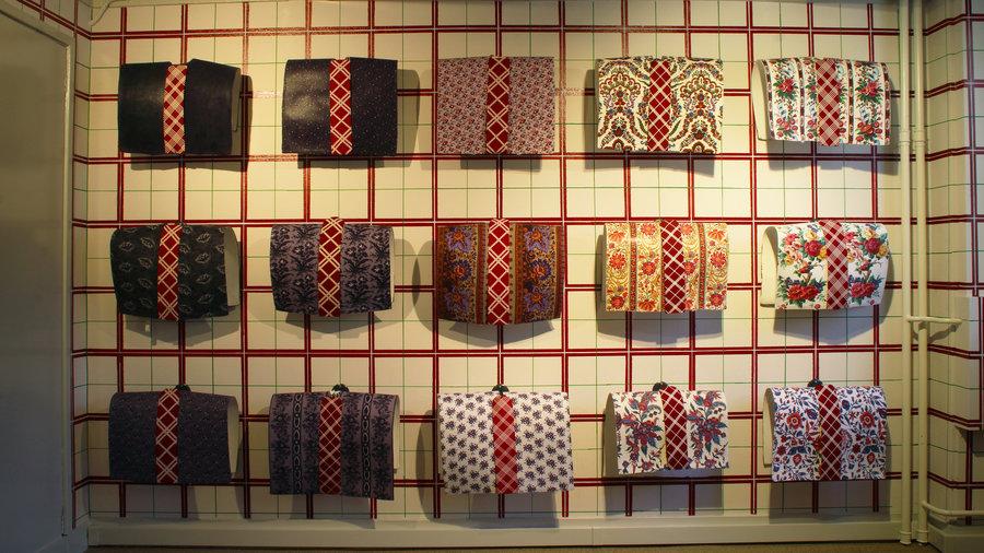 Kraplappen met verschillende patronen en kleuren