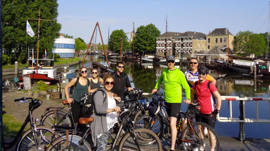 Fietstour door Gouda met Baja Bikes