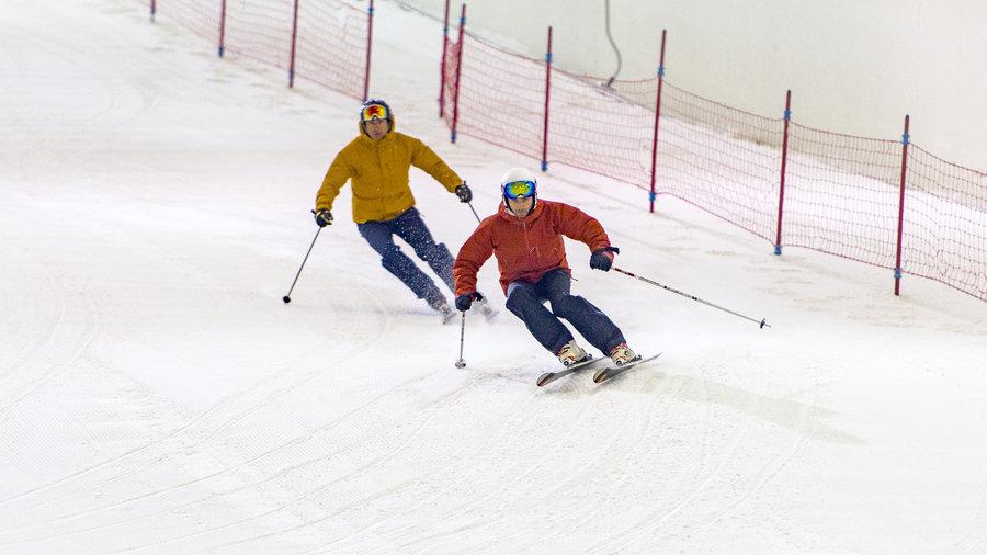 Skiën bij Skidôme Terneuzen