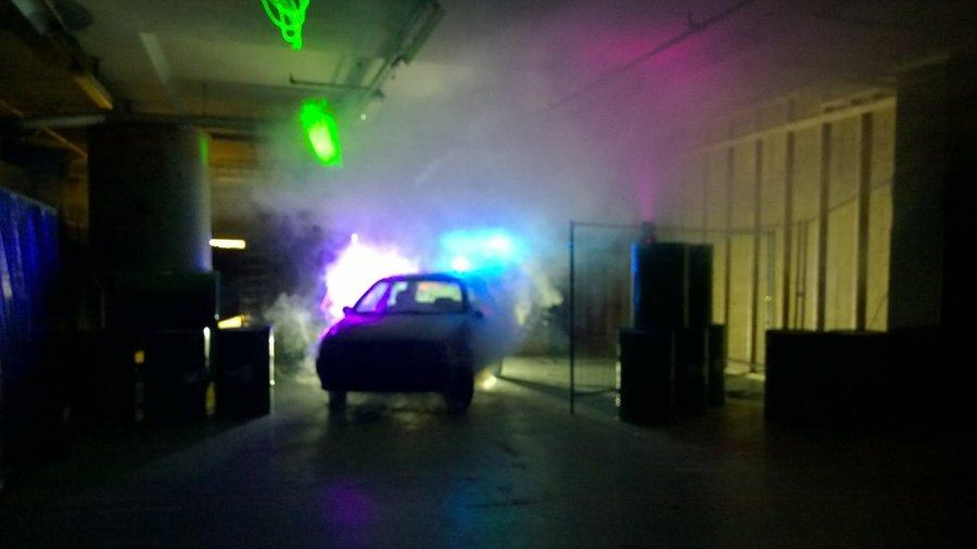 Spannende lasergame hal van Laserloods Nijmegen