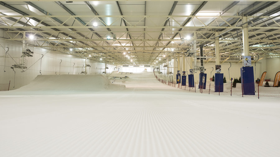 Indoor skibaan in Nederland Terneuzen