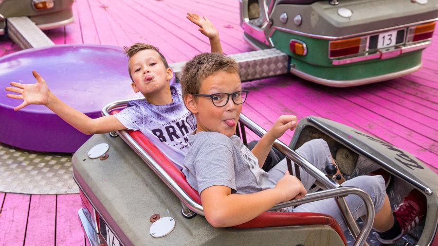 Twee jongens in Calypso