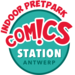 Logo comics station rood 1200
