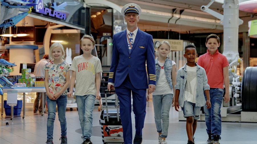 Kinderen met piloot