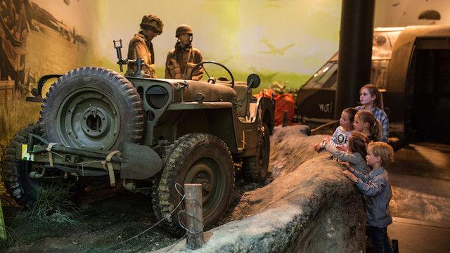 korting airborne museum kinderen