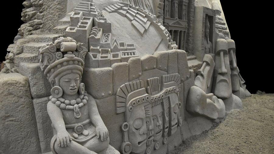 Azteken, inca's en de beelden van Paaseiland