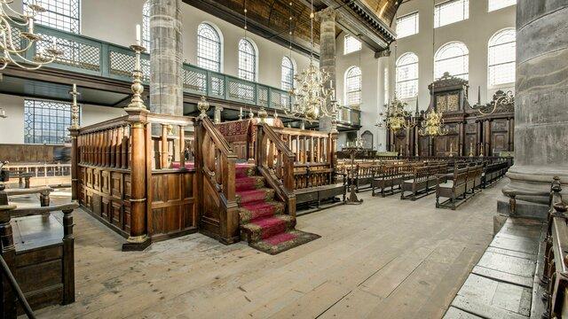 Interieur Portugese Synagoge