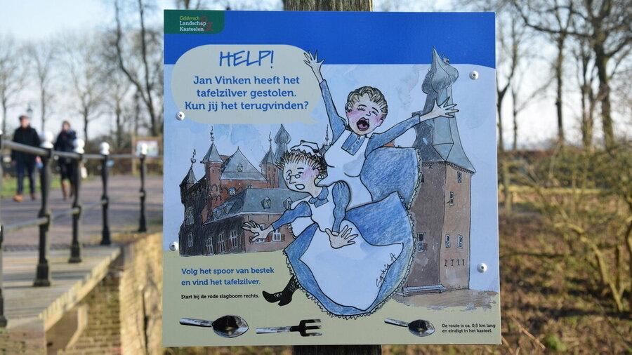 Speurtocht voor kinderen op Kasteel Doorwerth