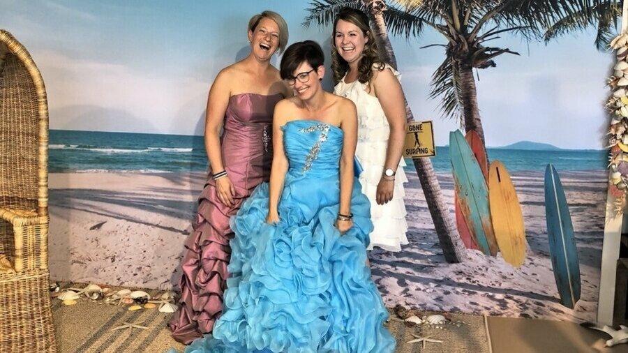 Trek de mooiste jurken aan en ga op de foto