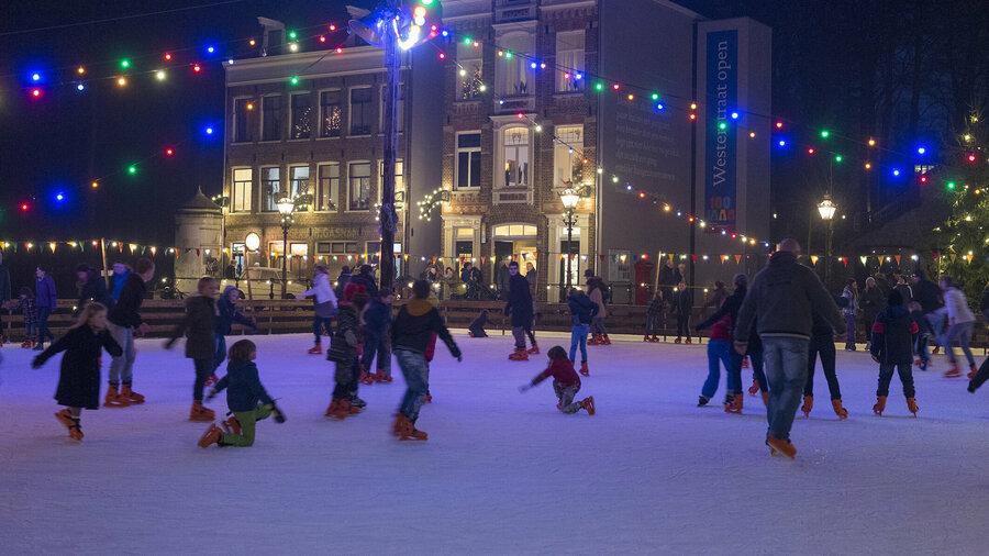 Kom deze winter schaatsen in het Nederlands Openluchtmuseum