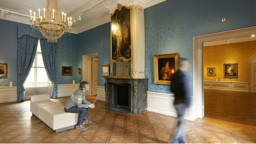 Bewonder prachtige kamers en schilderijen in het Noordbrabants Museum