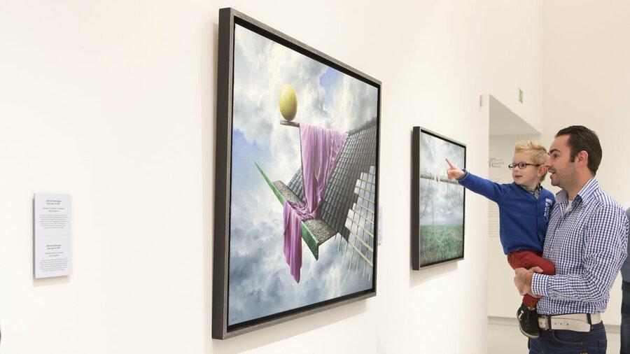Wat zie jij op de schilderijen in het Noordbrabants Museum?