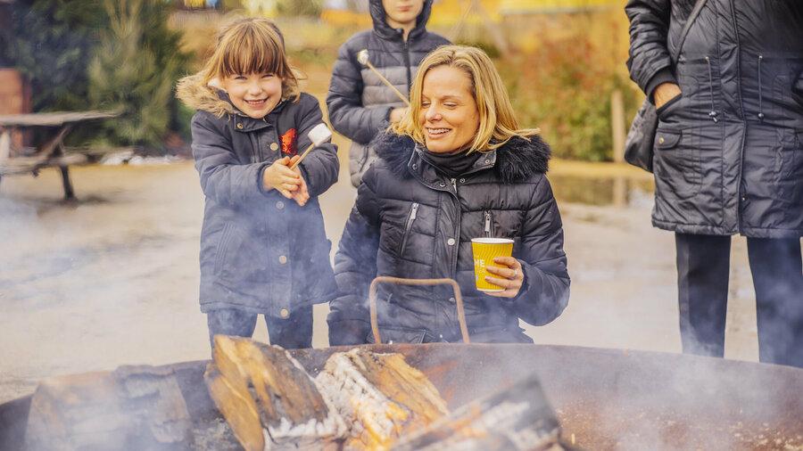Winters genieten in Attractiepark Toverland