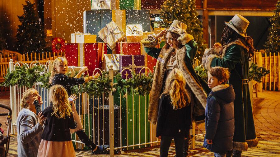 Magische kerstsfeer in Attractiepark Toverland