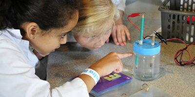 Kinderen in het Nederlands Watermuseum Arnhem