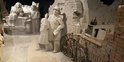 75 Jaar Vrijheid bij 't Veluws Zandsculpturenfestijn 2020