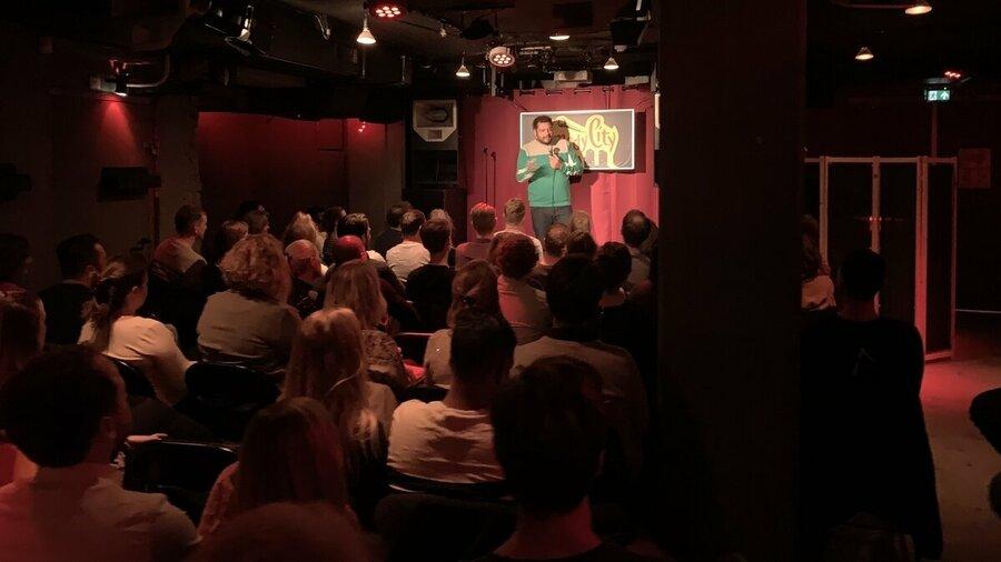Een avond lachen bij ComedyCity