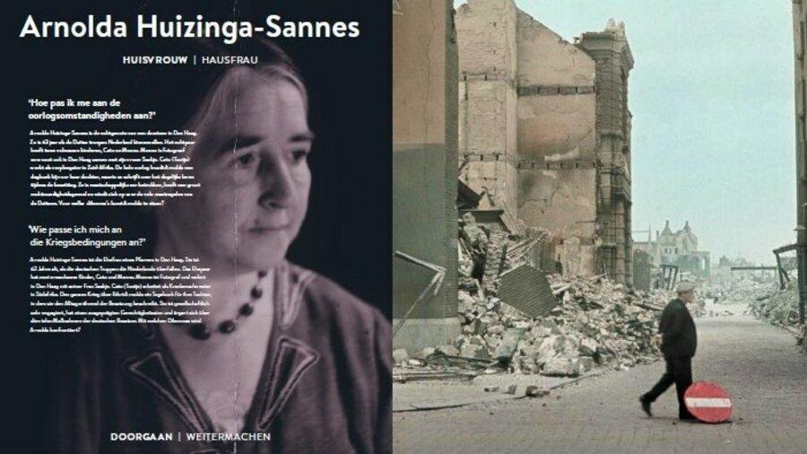 Het verhaal van Arnolda Huizinga-Sannes