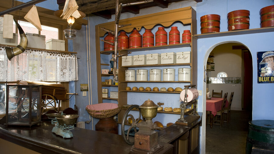 De bakkerij: zoals het er vroeger uitzag