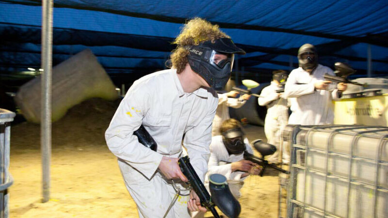 Paintball Strand Horst