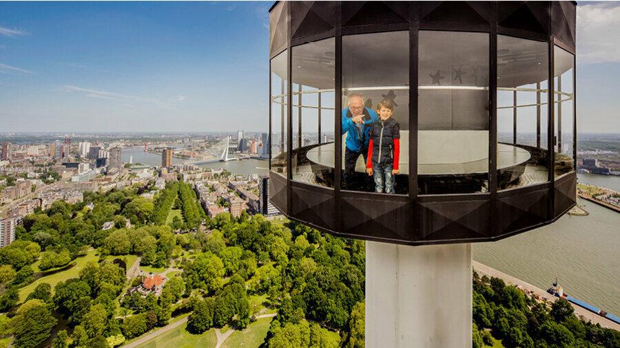 Euroscoop van de Euromast in Rotterdam