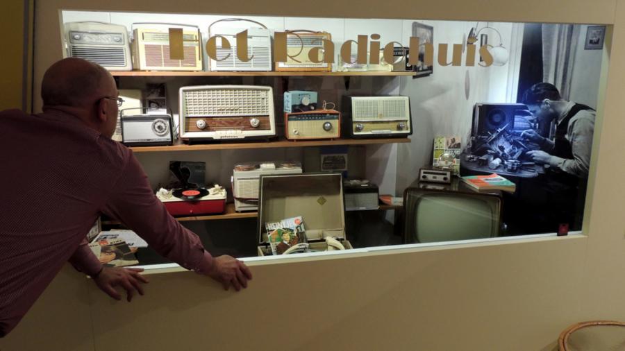 Het radiohuis bij het Museum van de Twintigste Eeuw