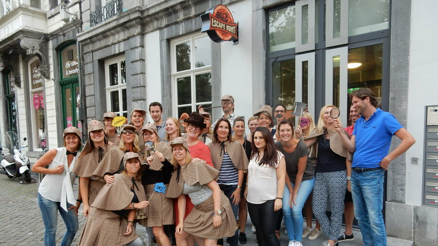6 Escape rooms @ The Escape Hunt Experience Maastricht