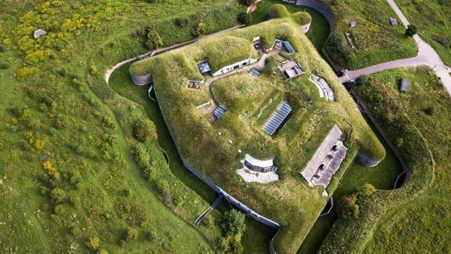 Fort Pannerden van boven