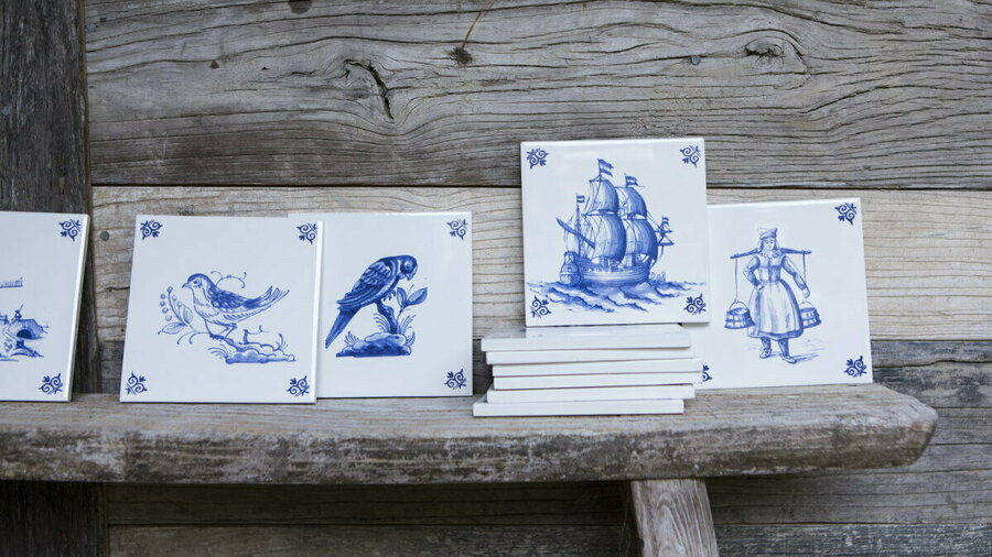 Delfts Blauw in Royal Delft Experience