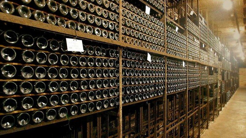 Flessengang Nederlands Wijnmuseum Foto: Nederlands Wijnmuseum