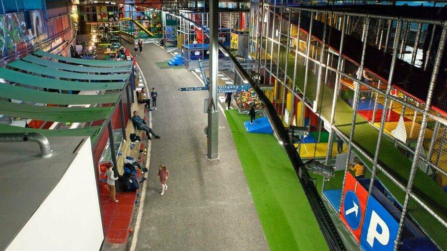 Overzicht speelpark TunFun Amsterdam