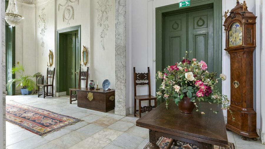 Bekijk het originele interieur van Huis Verwolde als in 1776
