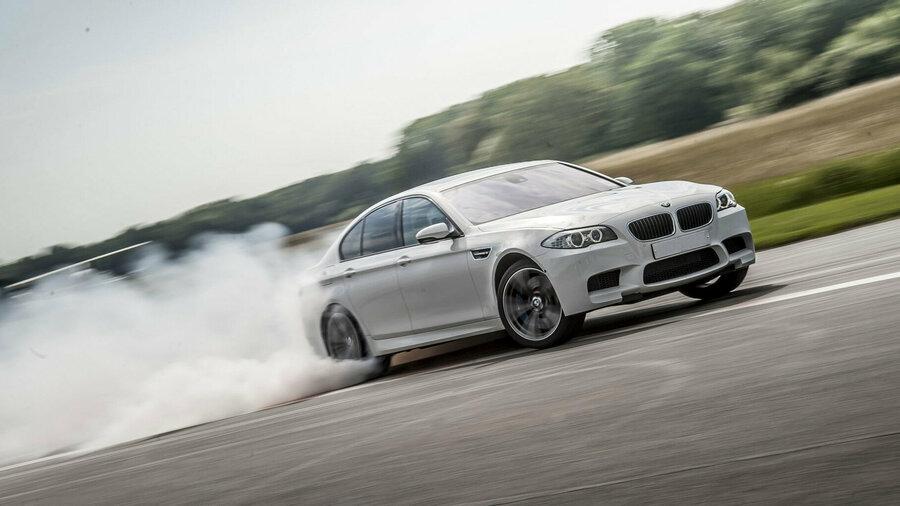 Driftende BMW